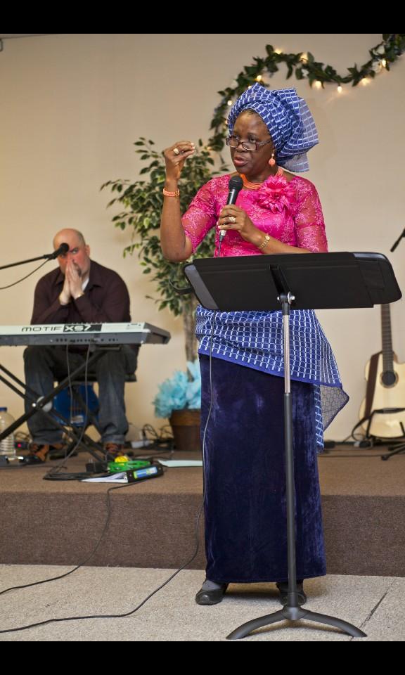 Guest Minister – Sister Kenny Olubanjo